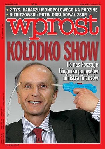 Okładka tygodnika Wprost nr 48/2002 (1044)