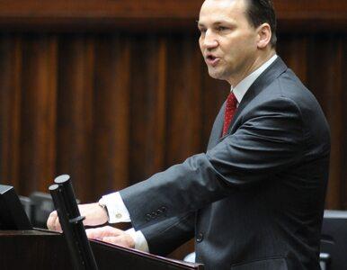 Sikorski: lepszej Polski niż dzisiejsza nigdy nie mieliśmy