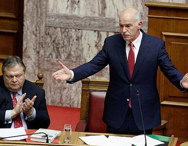 Grecki parlament zaufał premierowi
