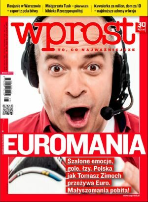 Okładka tygodnika Wprost nr 25/2012 (1531)
