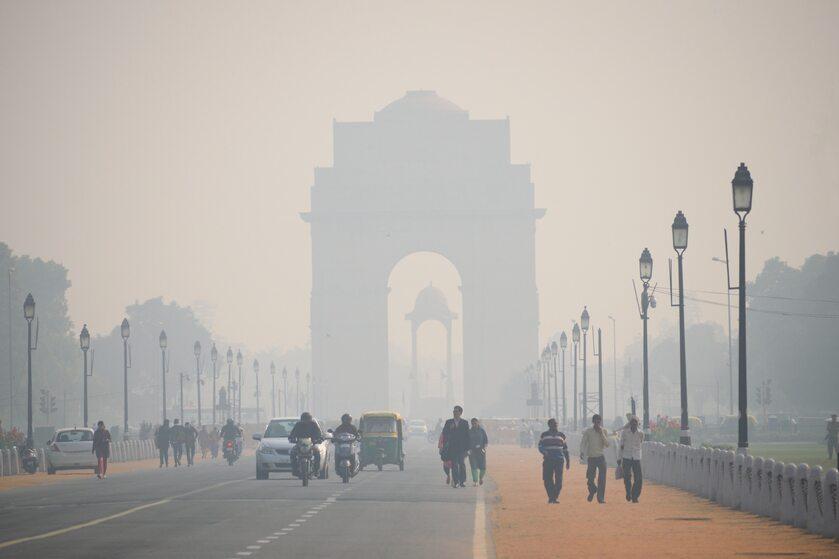 Smog w New Delhi