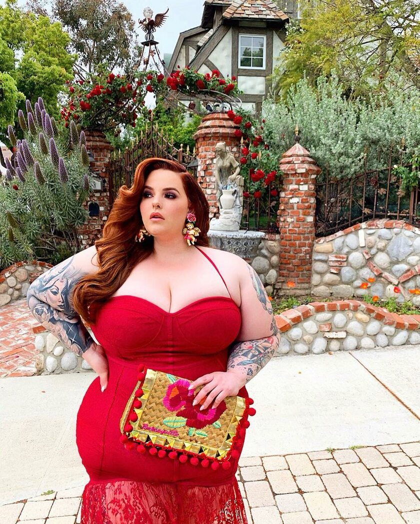 Plus-Size Model Tess Holliday: No Photoshop in Torrid Ads