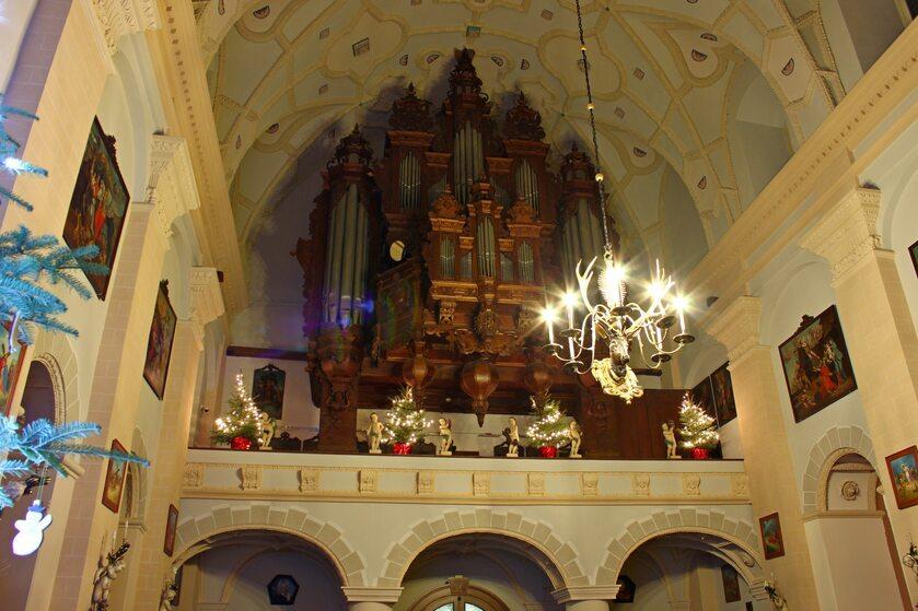 Organy w Kazimierzu Dolnym