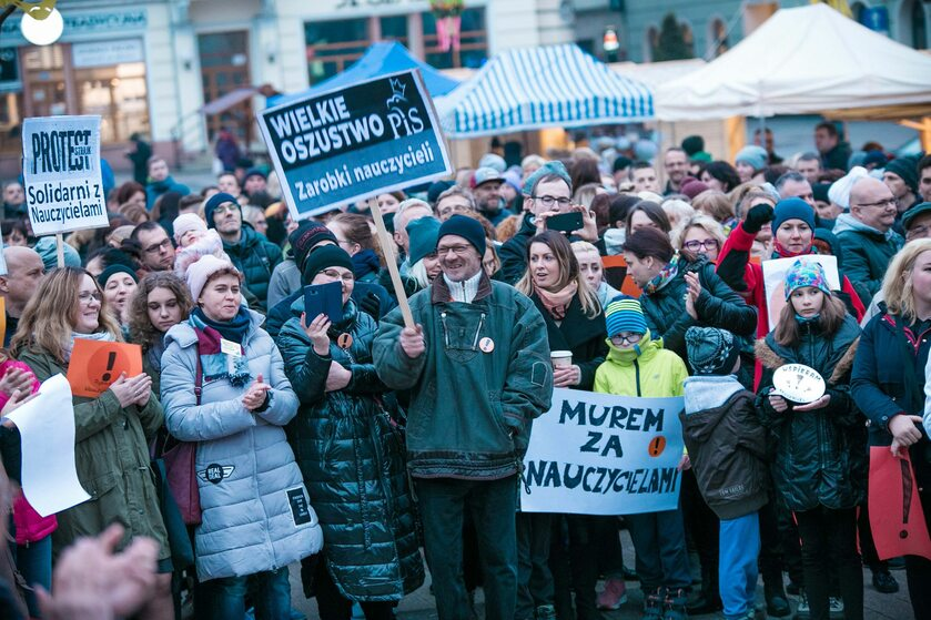 Demonstracja w Rybniku