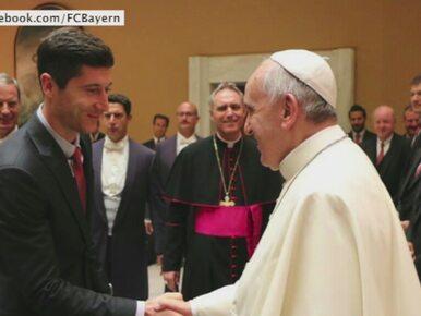 Gol, asysta i wizyta u papieża. Wyjątkowe chwile Lewandowskiego w Rzymie