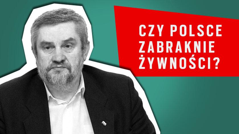 Wywiad z ministrem rolnictwa, Janem Krzysztofem Ardanowskim