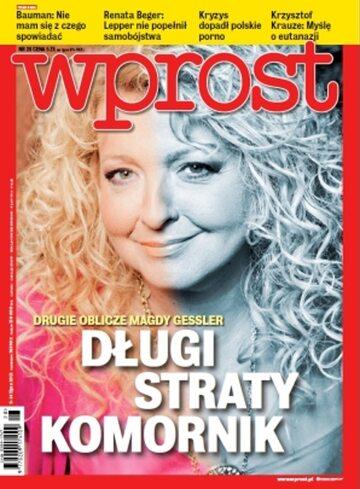 Okładka tygodnika WPROST: 28/2013