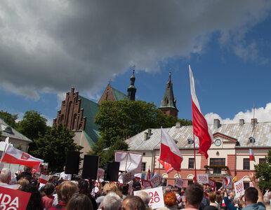 """Awantura podczas wizyty Andrzeja Dudy w Katowicach. """"Skur***"""", """"Wypier***"""""""