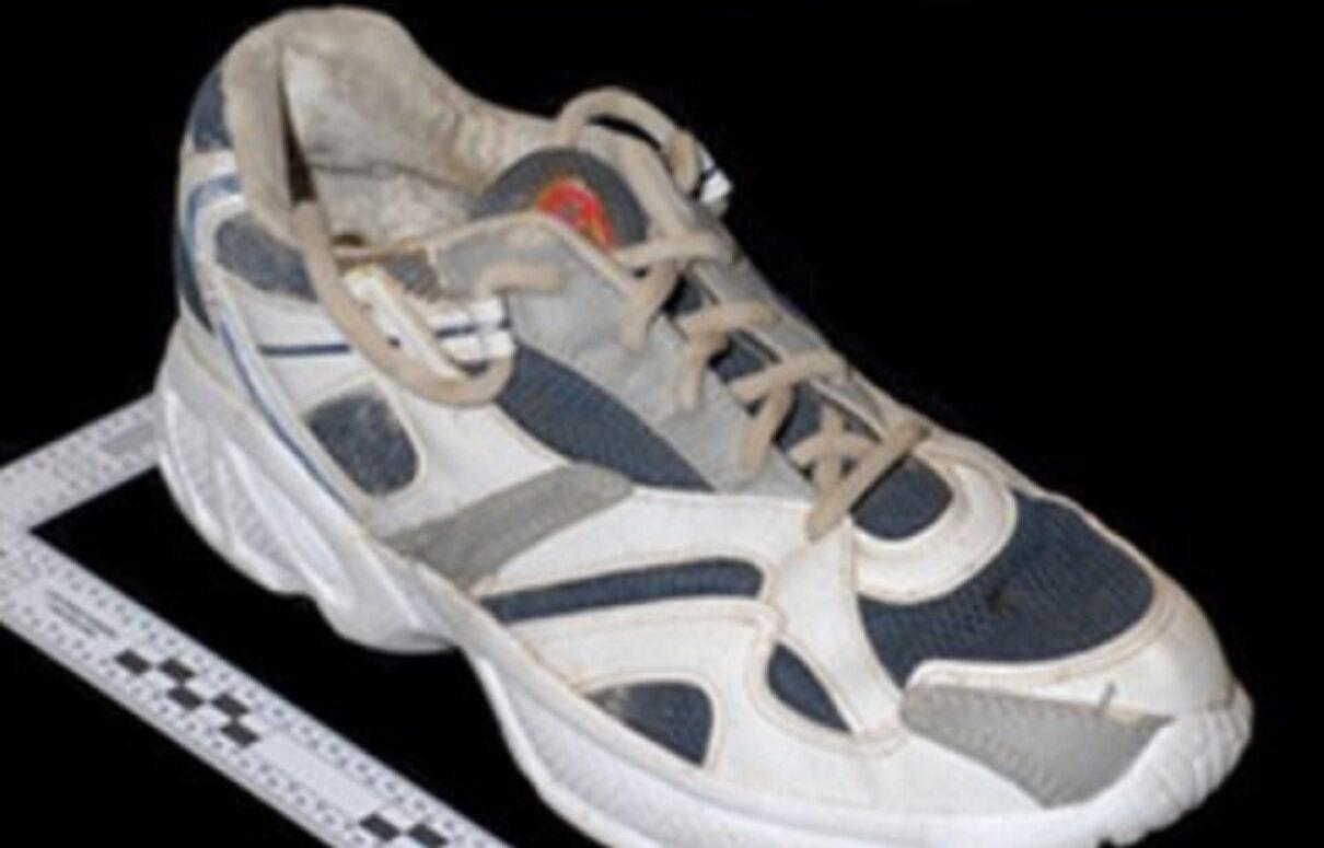Pierwszy znaleziony but