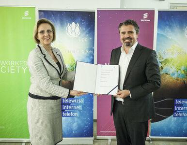 Ericsson podpisał z UPC Polska umowę na transformację, utrzymanie i...