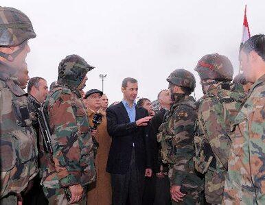 Asad żąda zawieszenia broni