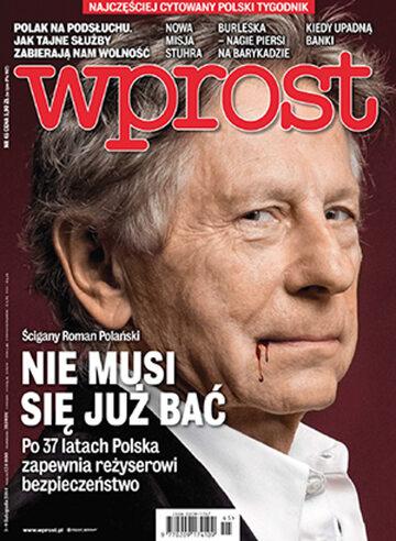 Okładka tygodnika Wprost nr 45/2014 (1653)
