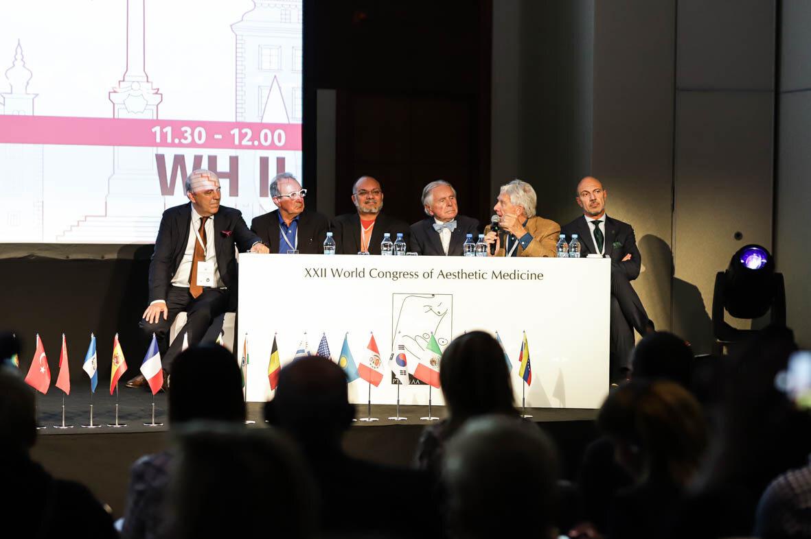 Uczestnicy XXII Światowego Kongresu Medycyny Estetycznej XXII Światowy Kongres Medycyny Estetycznej
