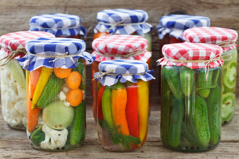Warzywa w słoikach