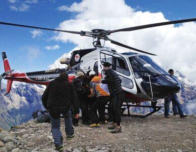 Himalaiści zginęli pod lawiną? Śmigłowiec już ich nie szuka
