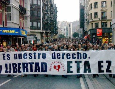 Hiszpański rząd: nie będziemy rozmawiać z ETA
