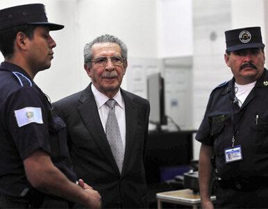 Przywódca Gwatemali odpowie za ludobójstwo
