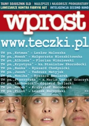 Okładka tygodnika Wprost nr 3/2005 (1155)