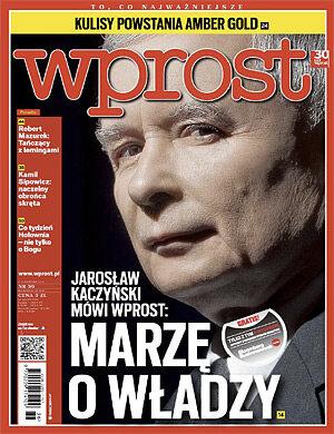 Okładka tygodnika Wprost nr 36/2012 (1542)