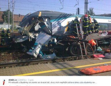 Pendolino zderzyło się z polskim tirem. Dwie osoby nie żyją,...
