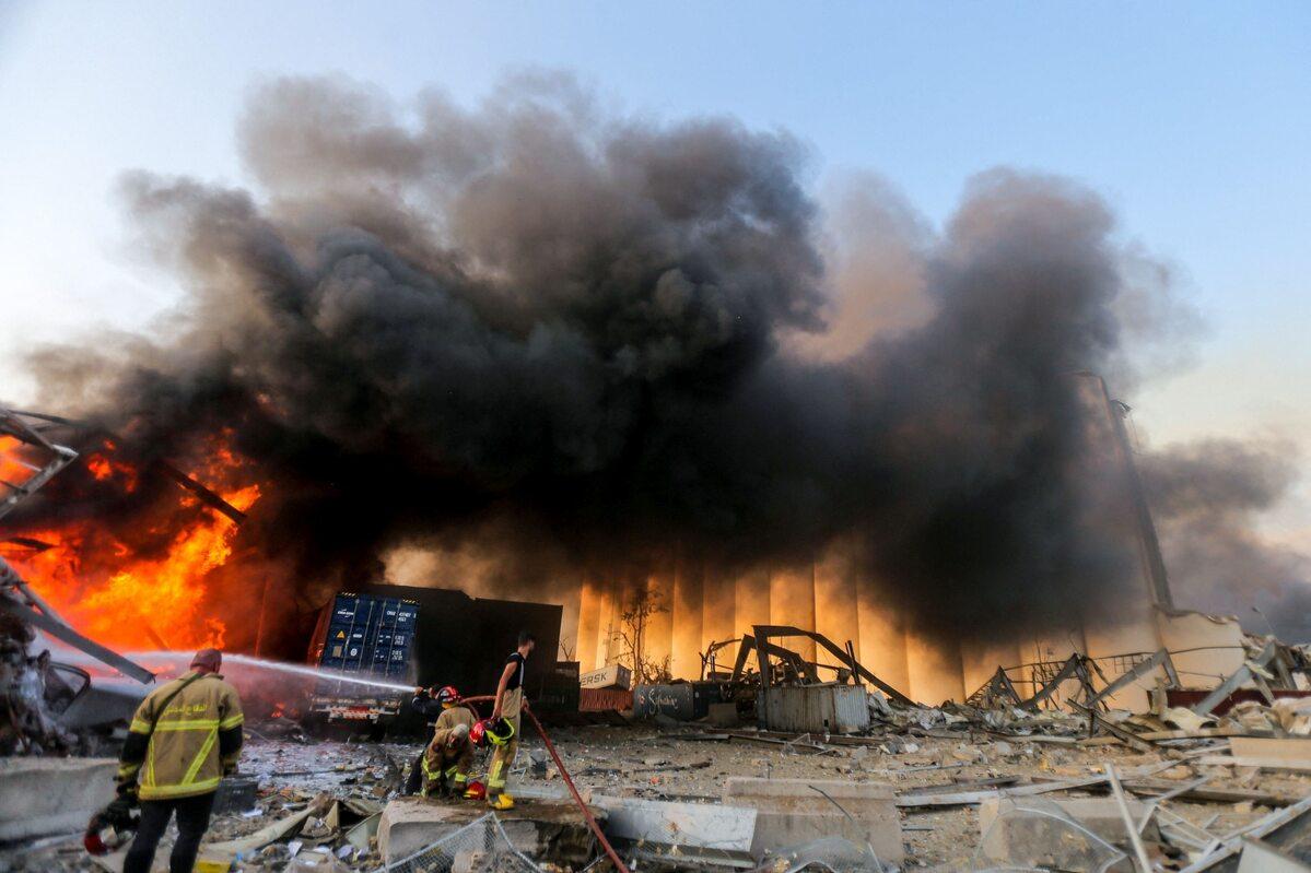 Po wybuchu w Bejrucie