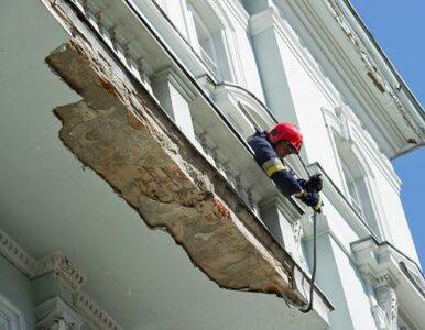 Balkon spadł na niemowlę. Prokuratura wszczyna śledztwo