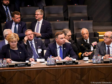 Prezydent Duda o NATO: Byłoby szokiem, gdyby Trump odstąpił od...