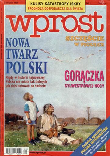 Okładka tygodnika Wprost nr 1/1999 (840)