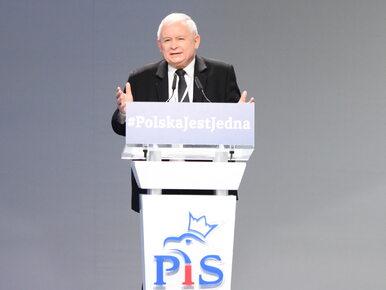 Ryszard Czarnecki bronił wystąpienia prezesa PiS na kongresie partii....