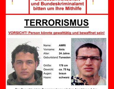 Polityk blokował publikację listu gończego za zamachowcem z Berlina. Bał...