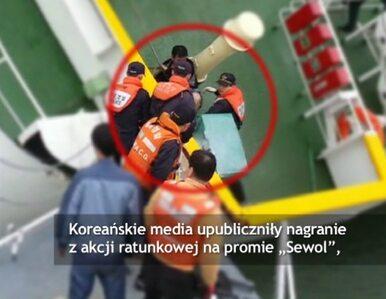Tak z pokładu uciekał kapitan koreańskiego promu