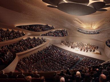 Nowy dom Filharmonii w Jekaterynburgu zaprojektowany przez Zaha Hadid...