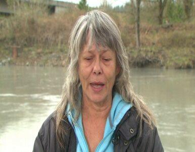 Kobieta przeżyła lawinę błotną pędzącą z prędkością  240 km/h