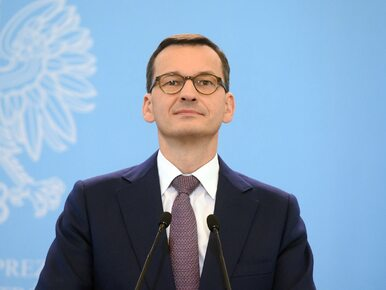 """Premier Morawiecki zapowiada """"bardzo konkretne kroki"""" do rozwiązania..."""