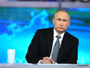 """Władimir Putin mówi o """"prowokacji"""" Ukrainy. """"Poroszenko chce podnieść..."""