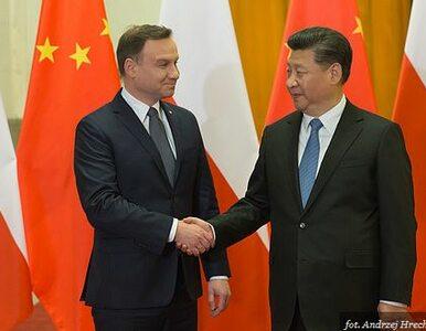 """Przywódca Chin przyjeżdża do Polski. """"Strategiczny wymiar relacji..."""
