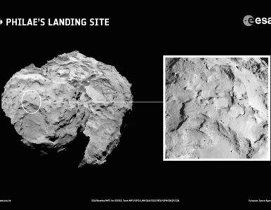 Wybrano miejsce do lądowania na komecie