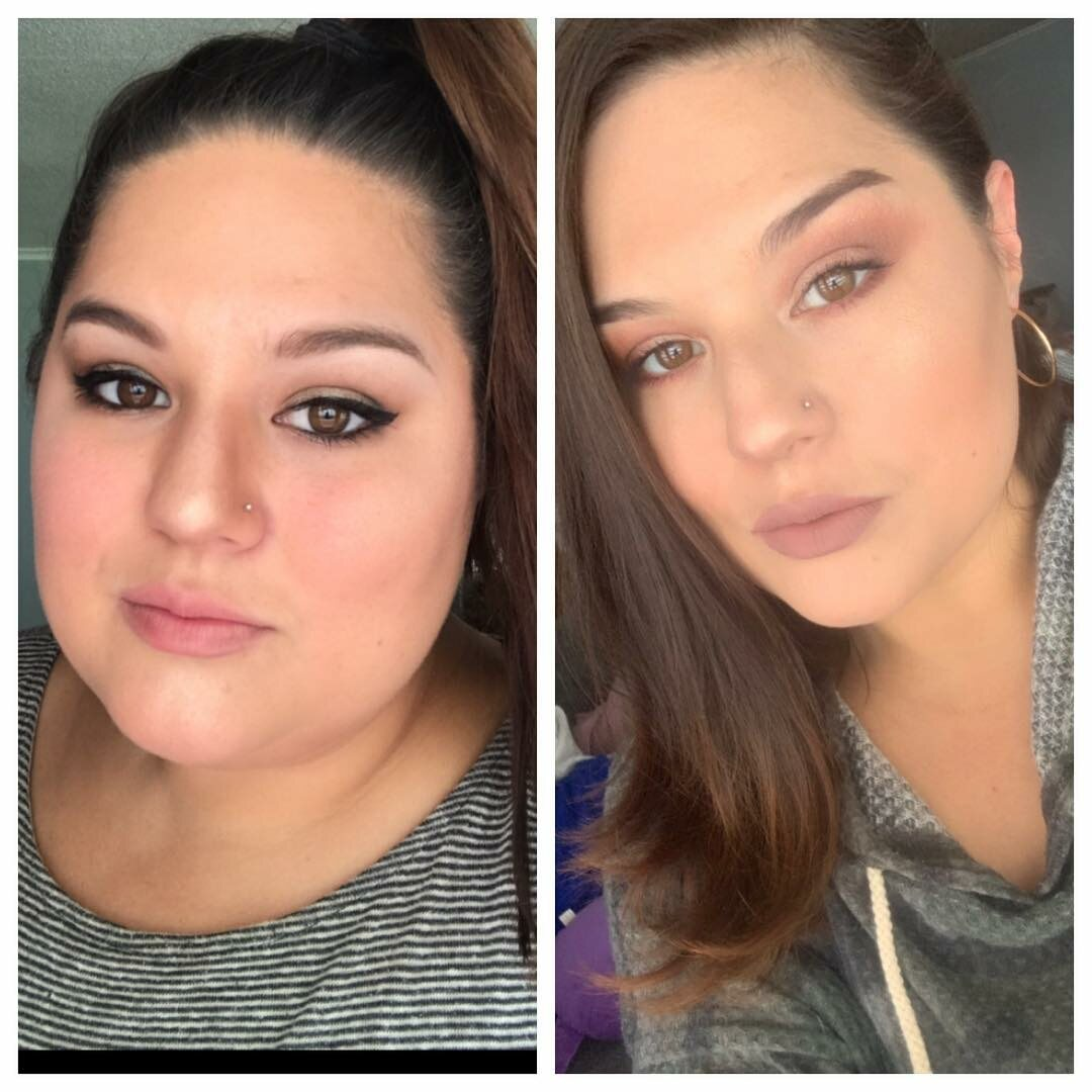 Nicole Caperilla przed i po metamorfozie