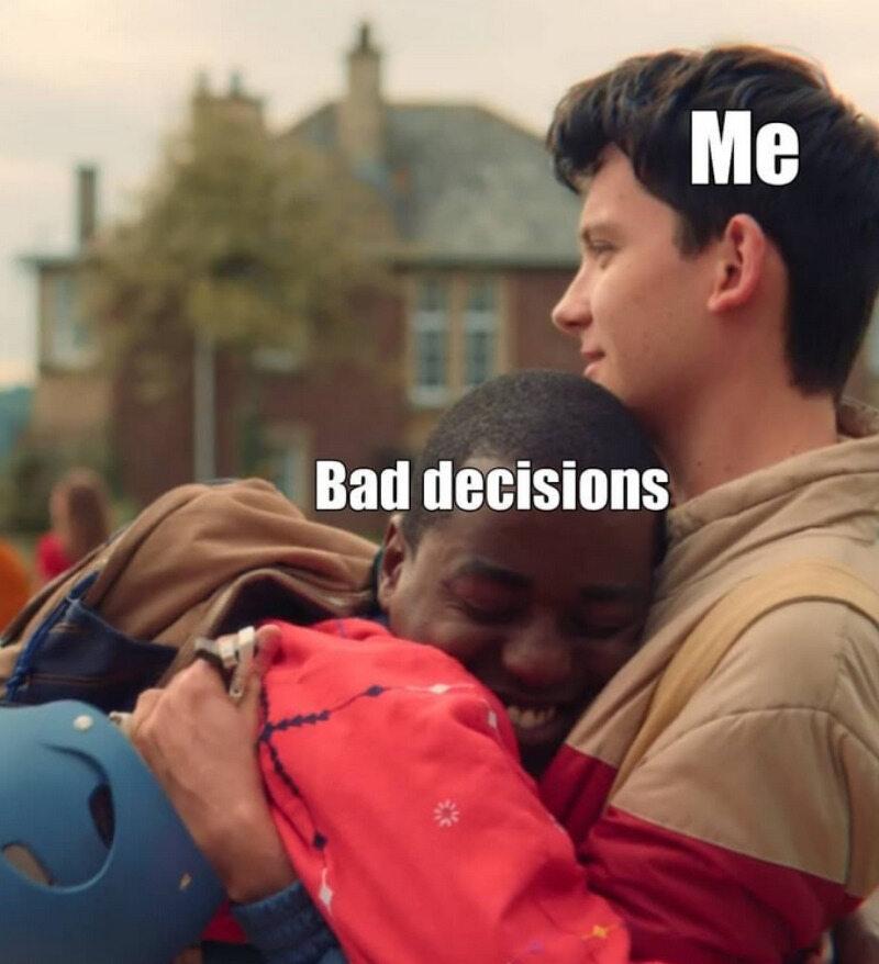 Ja/złe decyzje