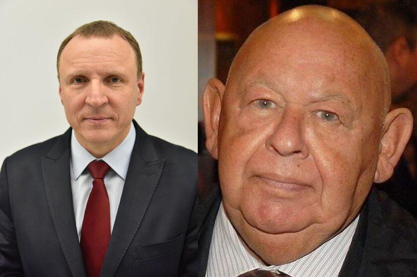 Jacek Kurski i Jerzy Urban