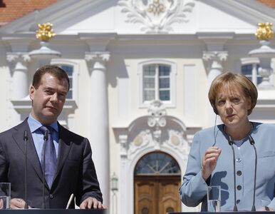 Merkel i Miedwiediew włączą gazociąg Nord Stream