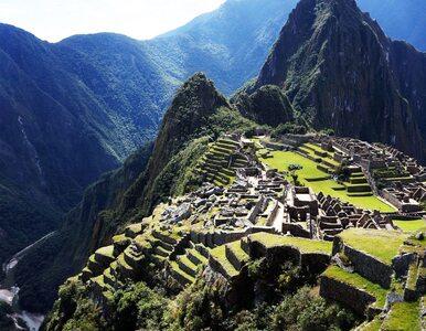 Inkaskie miejsca ceremonialne odnalezione w Machu Picchu
